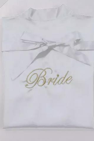 Халат для невесты