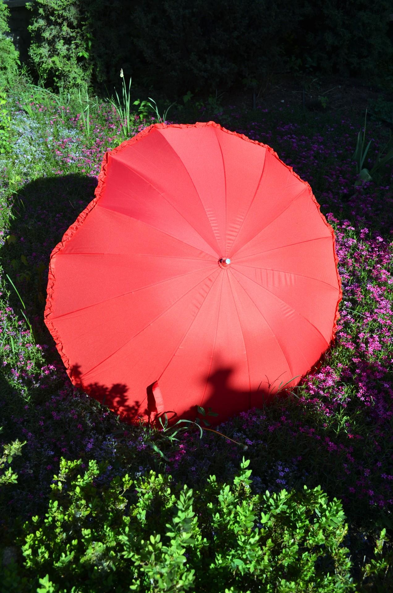 Зонтик-сердечко