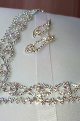 Набор свадебной бижутерии