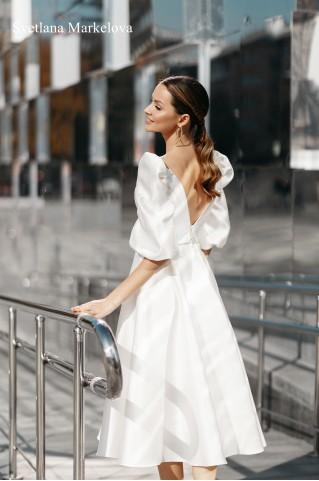 Свадебное платье COURTNEY MIDI