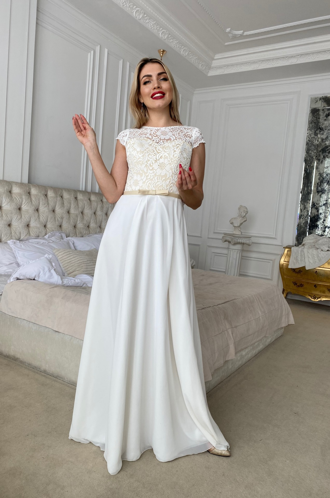 Свадебное платье СЧАСТЬЕ