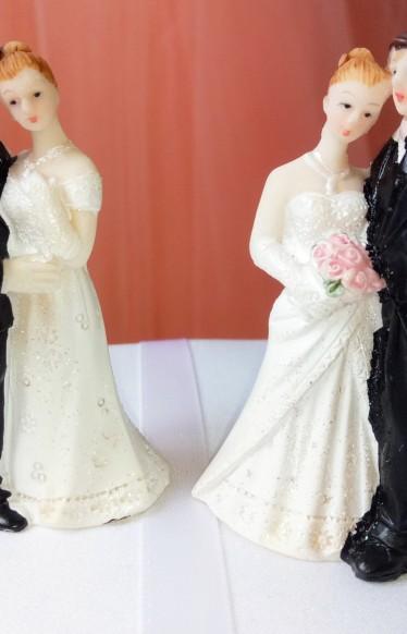 Фигурка на свадебный торт малые